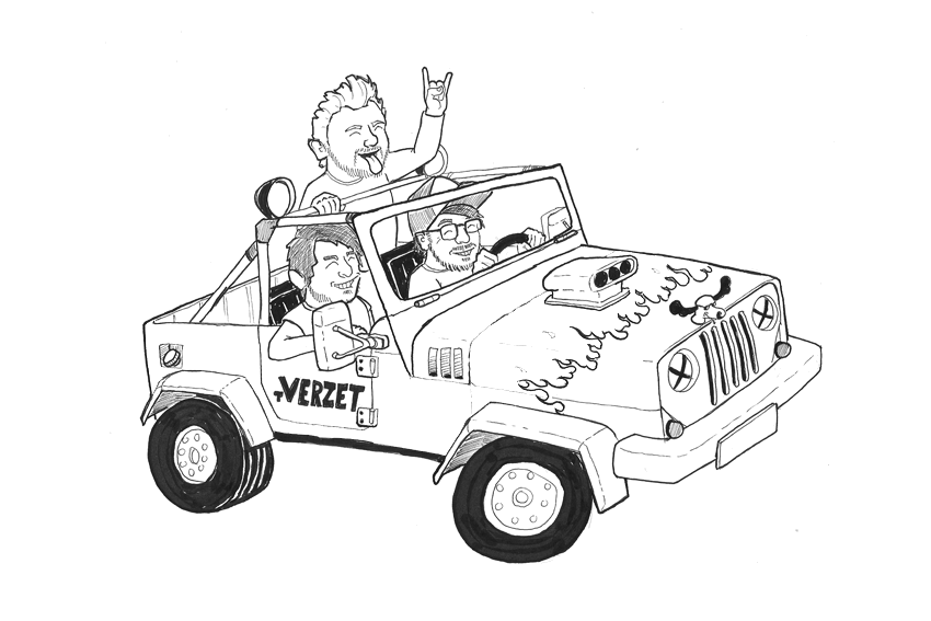 Tverzet-jeep